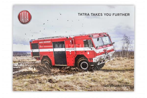Plakát Tatra hasičská