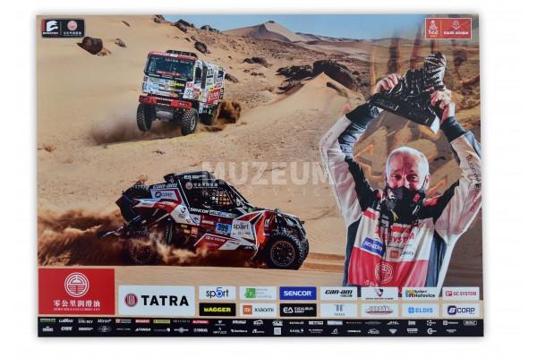 Plakát Dakar