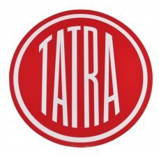 Nálepka logo Tatra - 15 cm