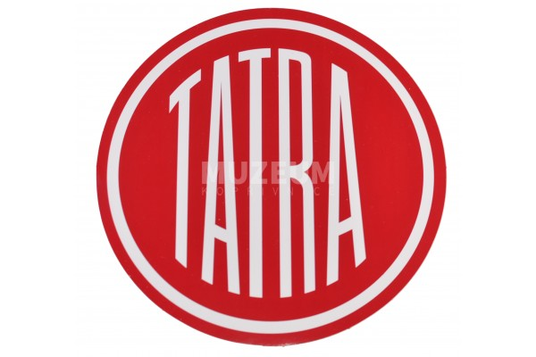Nálepka logo Tatra - 30 cm