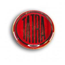 Nálepka plastová logo 19 mm