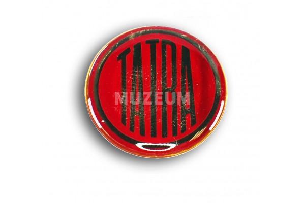Nálepka plastová logo 24 mm