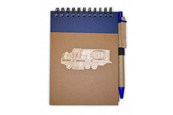 Zápisník Tatra GTC modrý