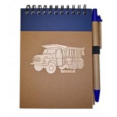 Zápisník T 138 modrý