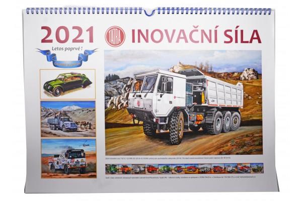 Kalendář 2021 (kresby Karel Rosenkranz)