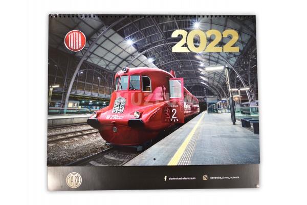 Kalendář 2022 Slovenská Strela