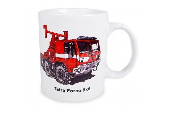 Hrnek hasičský Tatra force 8x8