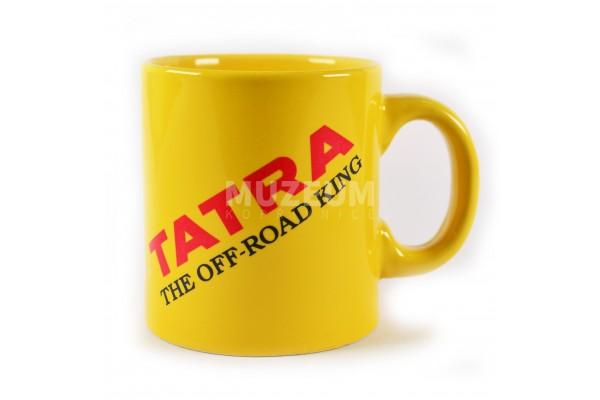 Hrnek Tatra the off road king, žlutý