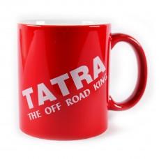 Hrnek  Tatra the off road king, červený