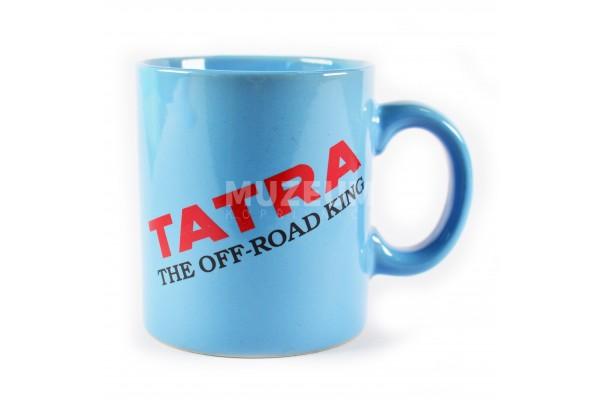 Hrnek - Tatra off road king, světle modrý