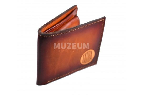 Pánská kožená peněženka - tmavá