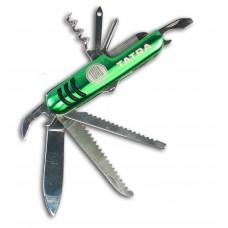 Kapesní nožík zelený