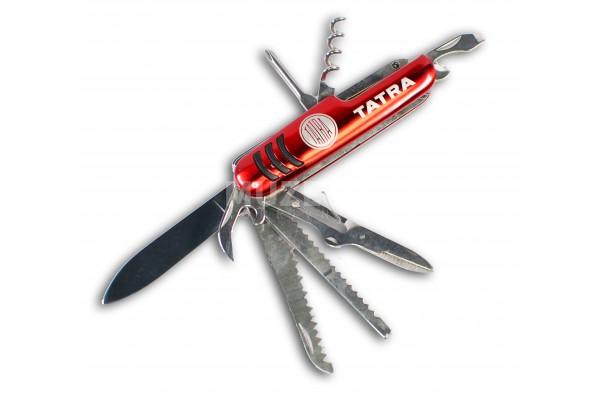 Kapesní nožík červený