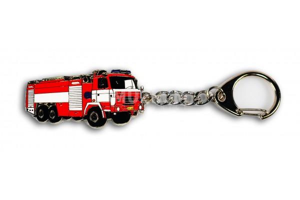 Klíčenka - T815 hasičská červená