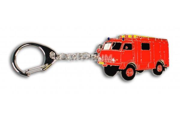 Klíčenka - T805 hasičská červená