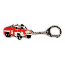 Klíčenka - T148 hasičská červená