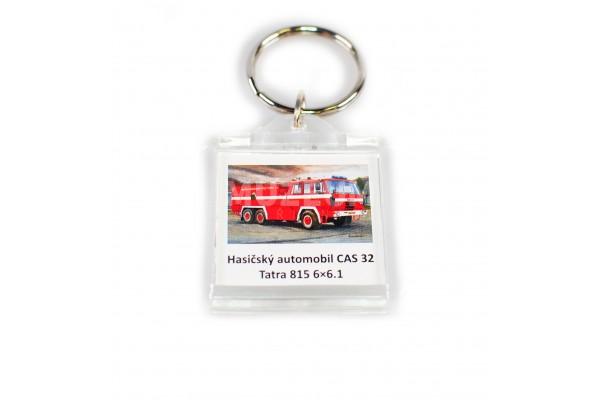 Klíčenka Hasičský automobil CAS 32 - plastová