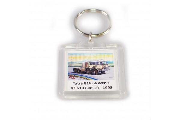 Klíčenka Tatra 816 6VWN9T 43 610 8x8 1R - plastová