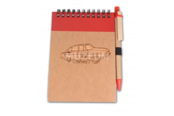 Zápisník červený