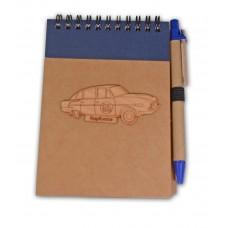 Modrý zápisník
