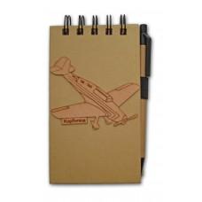 Zápisník Letadlo