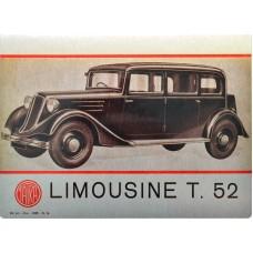 Plechová cedule Limousine 30x20cm