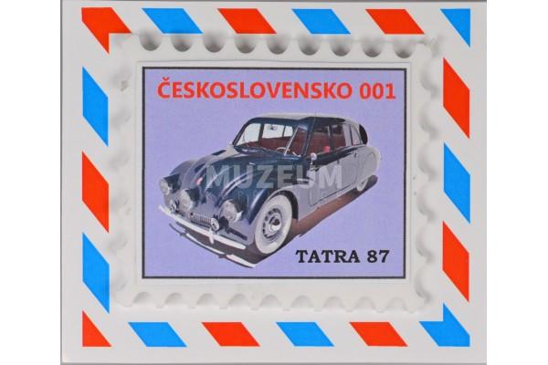 Magnet 001 - Tatra 87