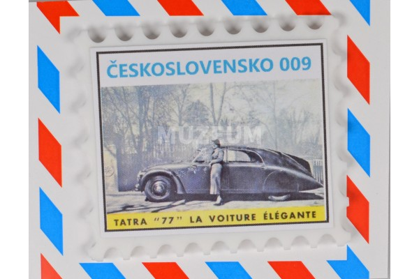 Magnet 009 - Tatra 77