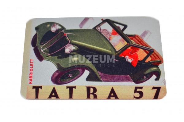Magnetka plechová T57 retro