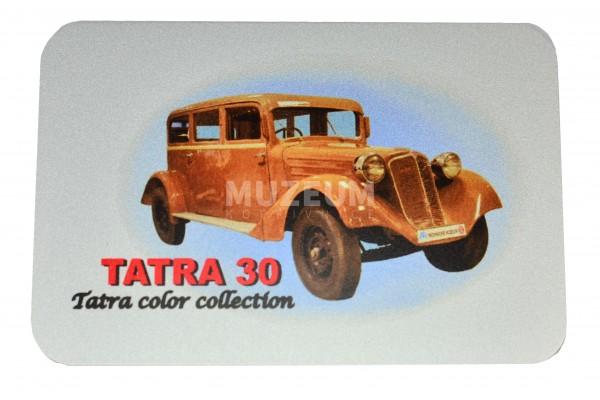 Magnetka plechová - Tatra 30