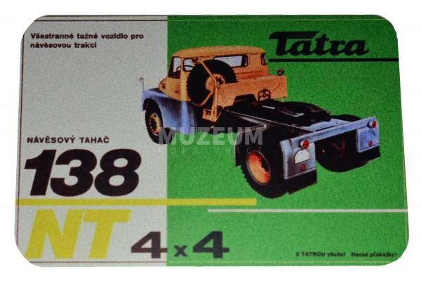 Magnetka plechová - T138 NT