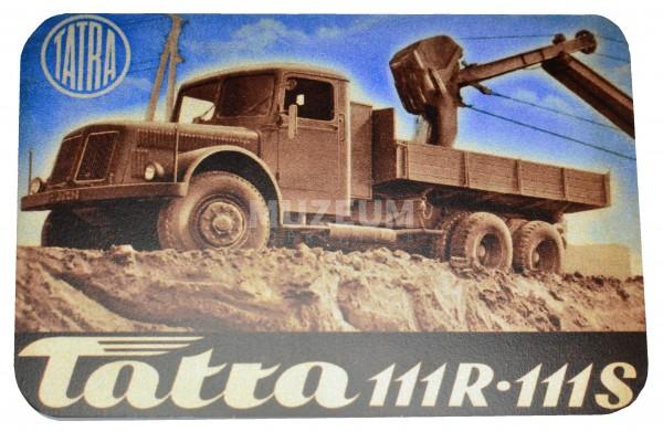 Magnetka plechová - T111R-T111S