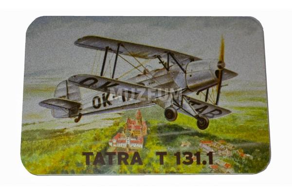 Magnetka plechová - Tatra T131.1