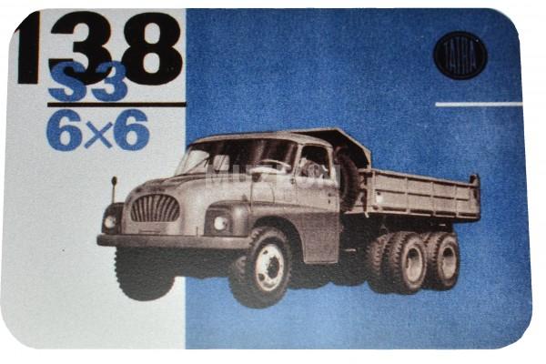 Magnetka plechová - T138 6x6 S3