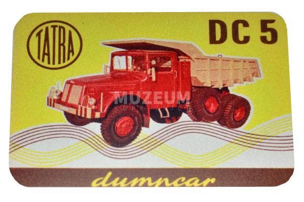 Magnetka plechová - Dumcar DC5