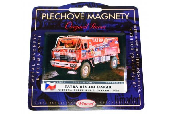 Magnetka plechová T815 4x4 Dakar