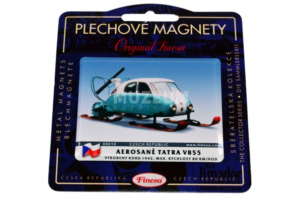 Magnetka plechová Aerosaně V-855
