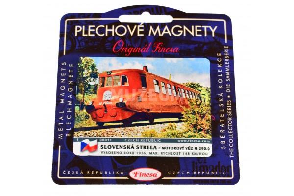 Magnetka plechová Slovenská Strela