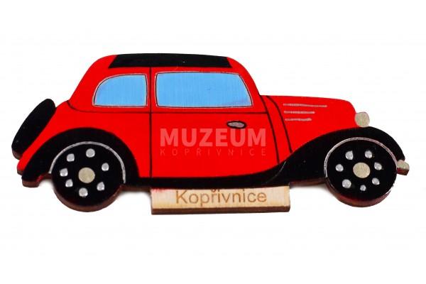 Dřevěná magnetka T 57