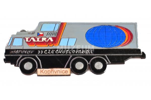 Magnetka dřevěná - Tatra GTC