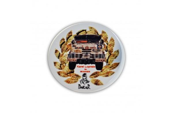 Magnet Dakar kulatý