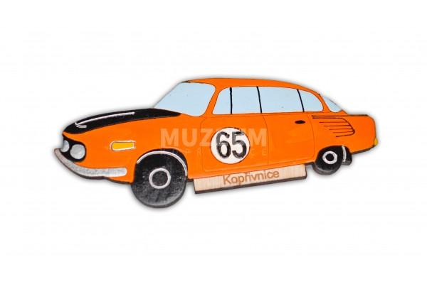 Magnetka dřevěná - T 603 závodní