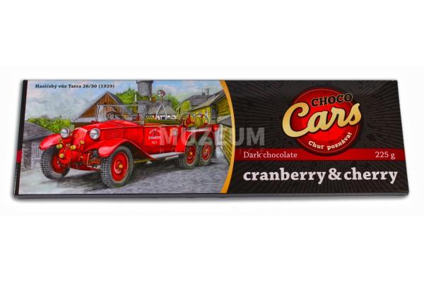 Čokoláda hořká cranberies+cherry
