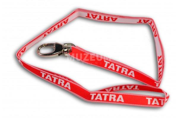 Šňůrka na krk s nápisem Tatra, tenká