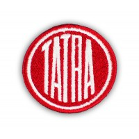 Nášivka logo Tatra průměr 6 cm