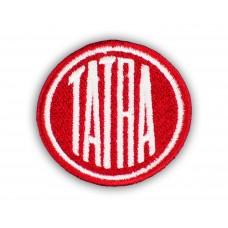 Nášivka logo Tatra průměr 4 cm