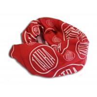 Multifunkční šátek červený s logem Tatra
