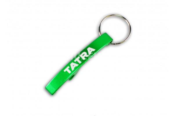 Otvírák nápis Tatra - zelený