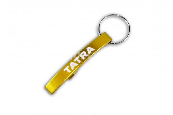 Otvírák nápis Tatra - žlutý