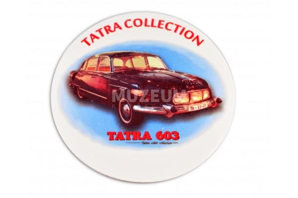 Pivní tácek - T 603, korkový